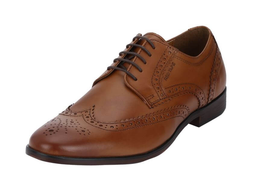 red tape formal shoes image